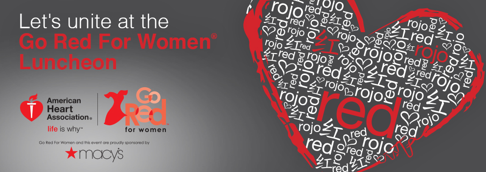 unite at the go red for women luncheon